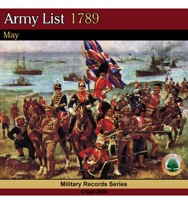 Army List 1789 - May