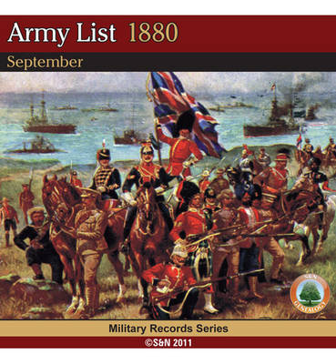 Army List 1880 - September