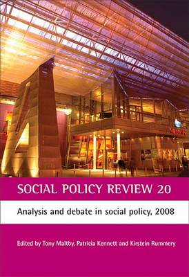 Social Policy Review 20: Analysis and debate in social policy, 2008