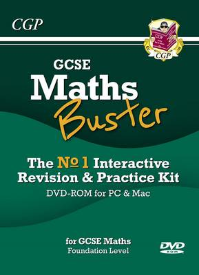 Mathsbuster: GCSE Maths Interactive Revision, Foundation Level - DVD-ROM for PC/Mac (A*-G Resits)