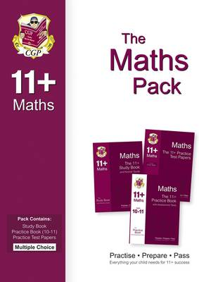 The 11+ Maths Bundle Pack - Multiple Choice (for GL & Other Test Providers)