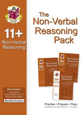 The 11+ Non-Verbal Reasoning Bundle Pack - Standard Answers (for GL & Other Test Providers)