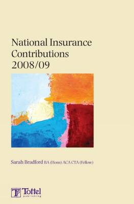 National Insurance Contributions: Tax Annual: 2008-2009