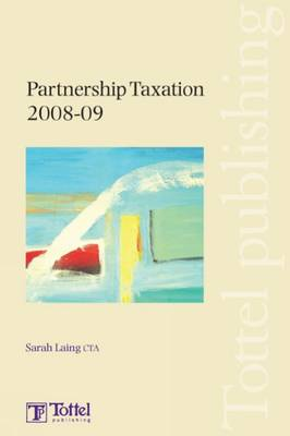 Partnership Taxation: 2008-2009