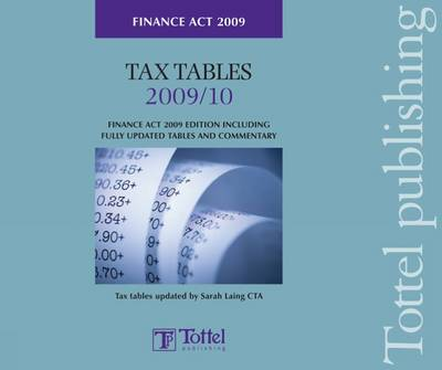 Tax Tables Finance Act 2009