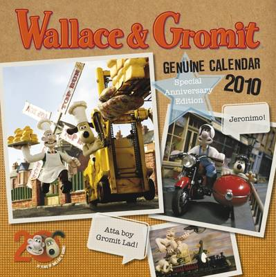 "Official ""Wallace & Gromit"" 2010 Calendar"