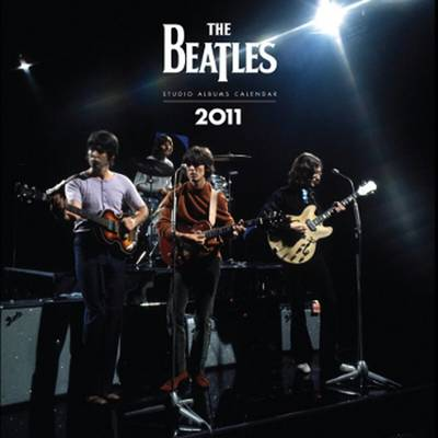The Official Beatles (square) Calendar 2011