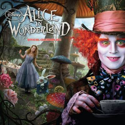 The Official Alice in Wonderland 2011 Square Calendar