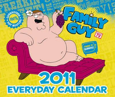 Official Family Guy 2011 Block Calendar