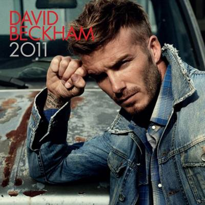 Official David Beckham 2011 Calendar