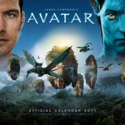The Official Avatar 2011 Square Calendar