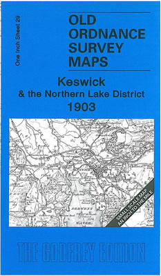 Keswick and the Northern Lake District 1903: One Inch Sheet 29