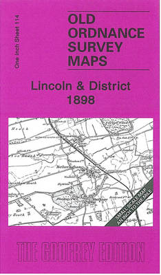 Lincoln and District 1898: One Inch Sheet 114