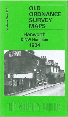 Hanworth & NW Hampton 1934: Middlesex Sheet 25.02