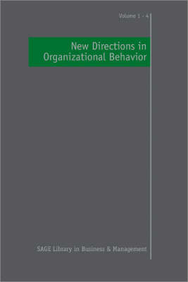 New Directions in Organizational Behavior