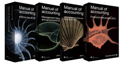 Manual of Accounting - IFRS for the UK: 2010
