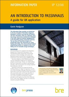 An Introduction to PassivHaus