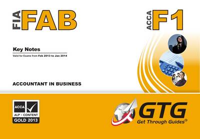Accountant in Business: F1/FAB