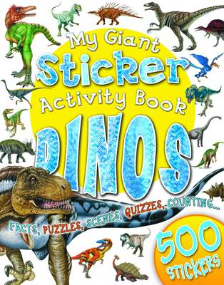 My Giant Sticker Activity Book Dinosaurs
