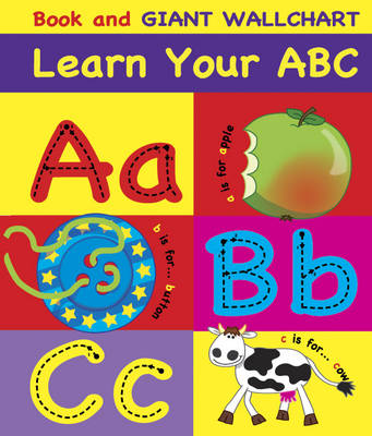 Learn Your ABC: Book and Giant Wallchart