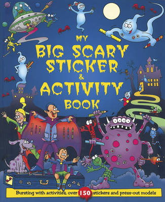 My Big Scary Sticker and Activity Book