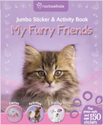 My Furry Friends Bumper Sticker and Activity Book