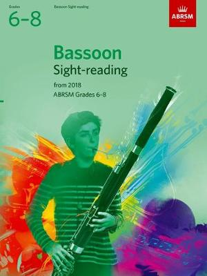 Bassoon Sight-Reading Tests Grades 6-8 from 2018