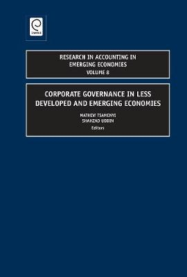 Corporate Governance in Less Developed and Emerging Economies
