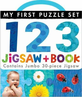 My First Puzzle Set: 123 Jigsaw and Book