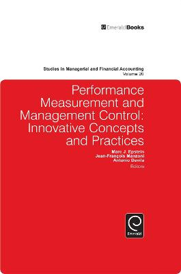 Performance Measurement and Management Control: Innovative Concepts and Practices