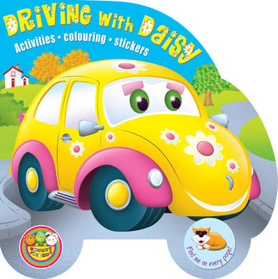 Driving with Daisy: Activities, Colouring, Stickers