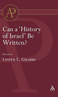 Can a History of Israel be Written?