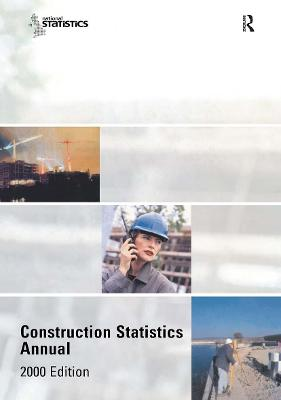 Construction Statistics Annual, 2000: 2000