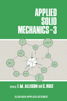 Applied Solid Mechanics: 3rd Conference