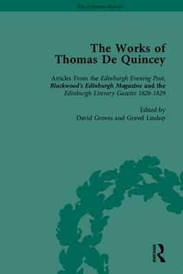 The Works of Thomas de Quincey: Part 1
