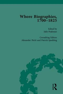 Whore Biographies, 1700-1825, Part I