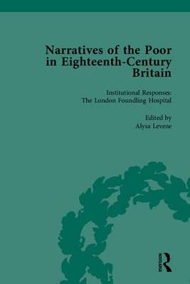 Narratives of the Poor in Eighteenth-Century England