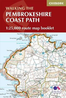 Pembrokeshire Coast Path Map Booklet: 1:25,000 OS Route Mapping