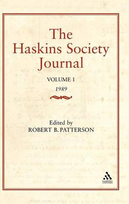 The Haskins Society Journal: Studies in Medieval History: 1989