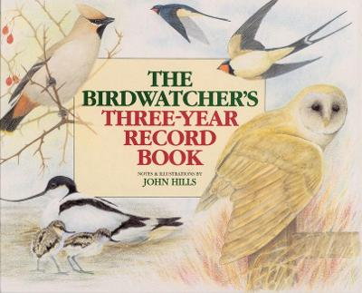 Birdwatcher's Three Year Record Book