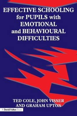Effective Schooling for Pupils with Emotional and Behavioural Difficulties