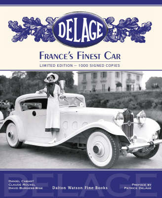 Delage: France's Finest Car