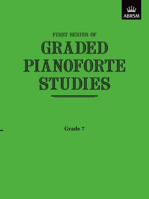 Graded Pianoforte Studies: First Series: Grade 7 - Advanced
