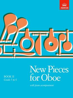 New Pieces for Oboe: Bk. 2: Grades 5-6