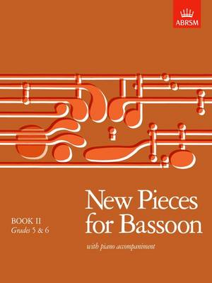 New Pieces for Bassoon: Bk. 2: Grades 5-6