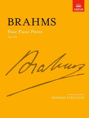 Four Piano Pieces: Op. 119