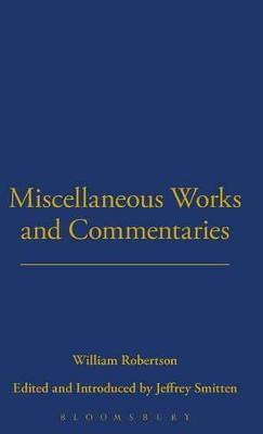 Miscellaneous Works and Commentaries