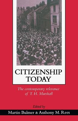 Citizenship Today: The Contemporary Relevance Of T.H. Marshall