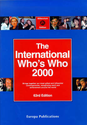 The International Who's Who: 2000