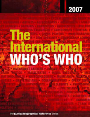The International Who's Who: 2007